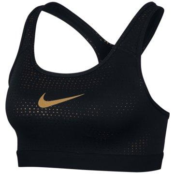 Nike Sport-BHClassic Metallic Dots  Bra Women schwarz