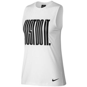 Nike Tops weiß