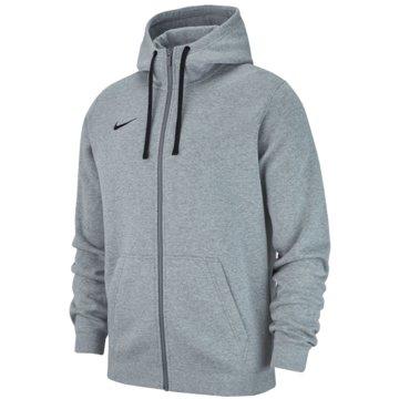 Nike SweatjackenM HOODIE FZ FLC TM CLUB19 - AJ1313 grau