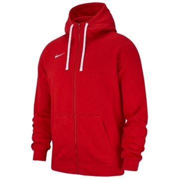 Nike SweatjackenTeam Club 19 FZ Hoodie rot