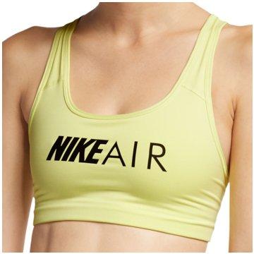Nike Sport-BHsAir Swoosh Graphic Bra Women gelb
