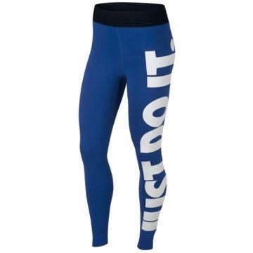 Nike TightsSportswear Leg-A-See JDI Leggings Women blau