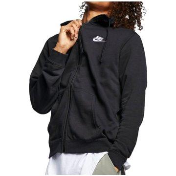 Nike Sweatjacken schwarz