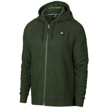 Nike SweatjackenOptic FZ Hoodie grün