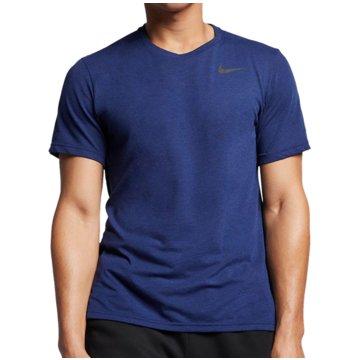 Nike T-ShirtsNIKE DRI-FIT BREATHE MEN'S SHORT-SL - AJ8002 blau