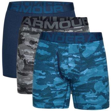Under Armour BoxershortsCharged Cotton Boxerjock Novelty 6 Inch 3-Pack blau