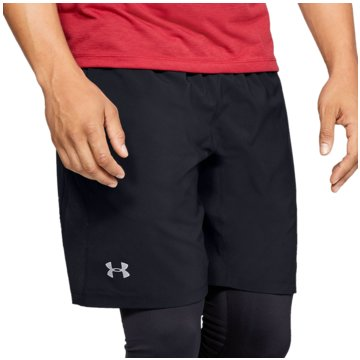 Under Armour LaufshortsLaunch Stretch-Woven 2-in-1 Short schwarz