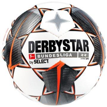 Derby Star FußbälleBundesliga Hyper TT weiß