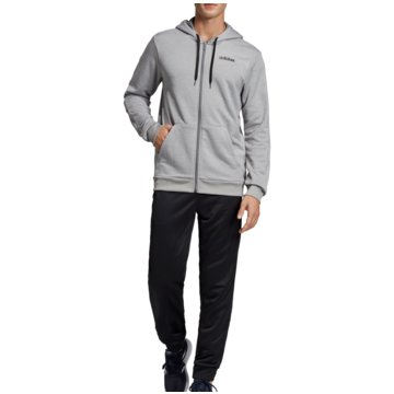 adidas TrainingsanzügeTracksuit Linear French Terry Hoodie grau