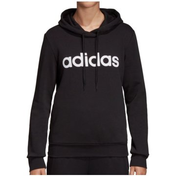adidas HoodiesEssentials Linear Over Head Fleece Hoodie Women schwarz