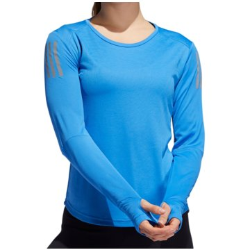 adidas LangarmshirtOWN THE RUN LS - FJ6602 blau
