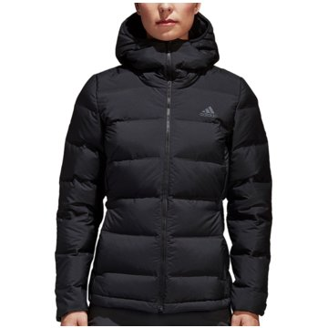 adidas FunktionsjackenHelionic Down Hooded Jacket Women schwarz