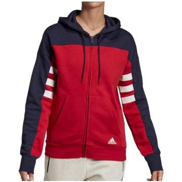 adidas HoodiesSport ID FZ Hoodie Women rot