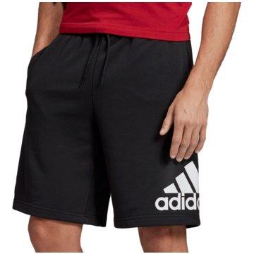 adidas kurze SporthosenMUST HAVES BADGE OF SPORT SHORTS - DX7662 schwarz