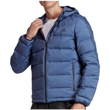 adidas FunktionsjackenHelionic Down Hooded Jacket blau