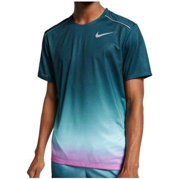Nike T-ShirtsDry Miler Print Top SS türkis