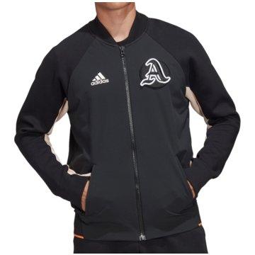 adidas TrainingsjackenVRCT Jacket schwarz