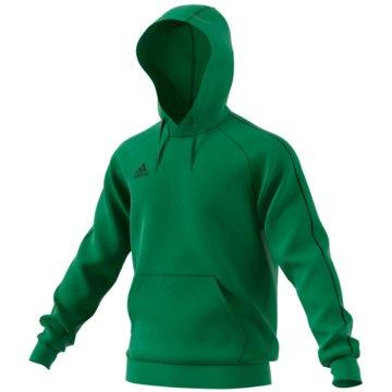 adidas HoodiesCORE 18 HOODIE - FS1894 grün