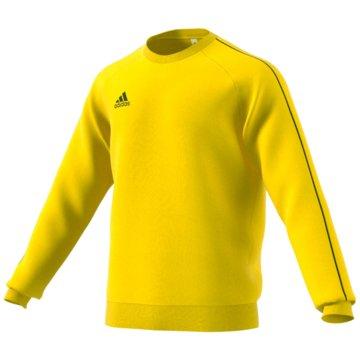 adidas SweatshirtsCore 18 Sweat Top gelb