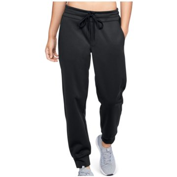 Under Armour Lange HosenAthlete Recovery Training Pant Women schwarz