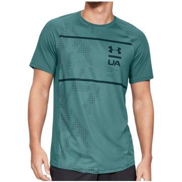 Under Armour T-ShirtsMK-1 HeatGear SS Printed Tee grün