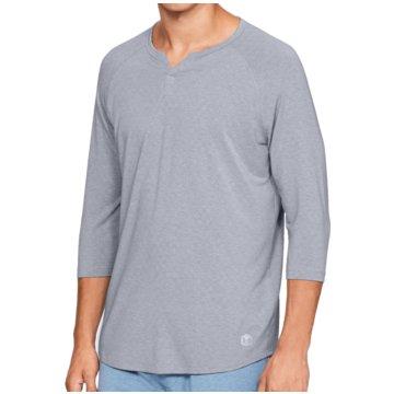 Under Armour UntershirtsAthlete Recovery Sleepwear 3/4 Sleeve Henley Shirt grau