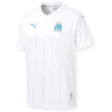 Puma Fan-TrikotsOlympique Marseille Replica Home Jersey 2019/2020 weiß