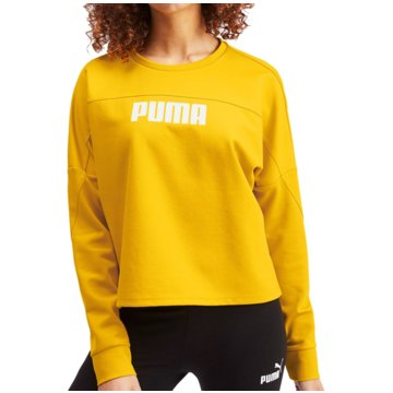 Puma SweatshirtsNU-TILITY Cropped Crew Sweat Women gelb