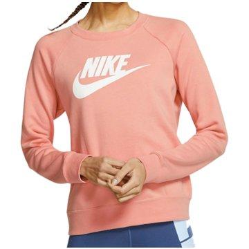 Nike SweatshirtsSportswear Essential Fleece Crew Women rosa