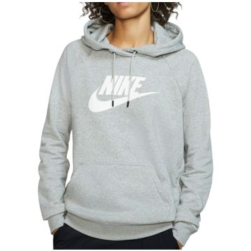 Nike HoodiesNike Sportswear Essential Women's Fleece Pullover Hoodie - BV4126-063 grau