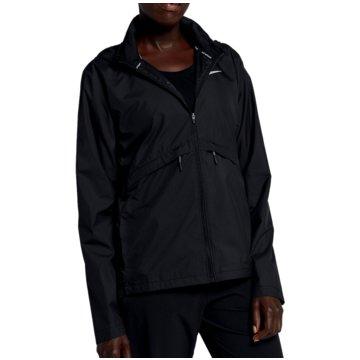 Nike SweatjackenEssential Running Hooded Jacket Women schwarz