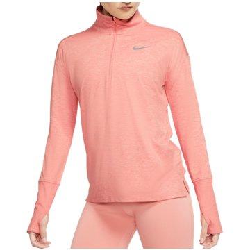 Nike SweatshirtsNIKE ELEMENT WOMEN'S 1/2-ZIP RUNNIN - AA4631 rosa