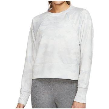 Nike SweatshirtsRebel Dry Fleece Crew Camo weiß