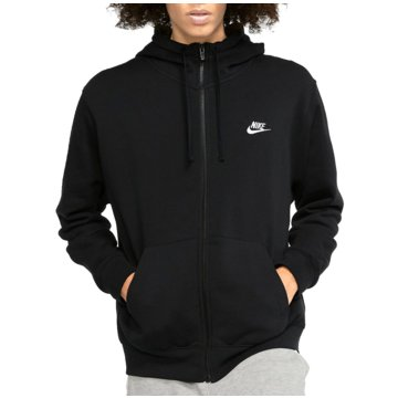 Nike SweatjackenSportswear Club FZ Hoodie schwarz