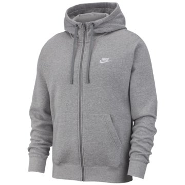 Nike Sweatjacken grau