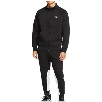 Nike JogginganzügeM NSW CE TRK SUIT FLC - BV3017 schwarz