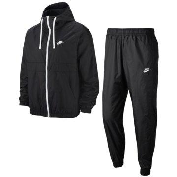 Nike PräsentationsanzügeHooded Woven Tracksuit schwarz