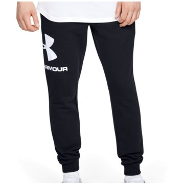 Under Armour TrainingshosenColdGear Rival Fleece Logo Jogger Pant schwarz