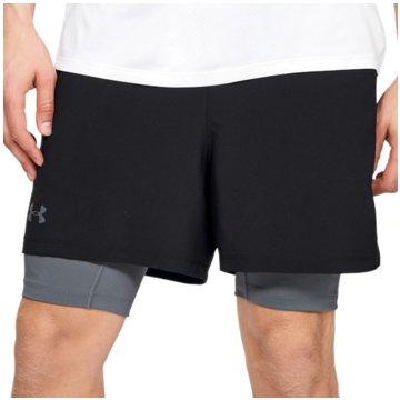 Under Armour kurze Sporthosen schwarz