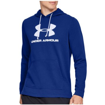 Under Armour SweatshirtsSportstyle Logo Terry Hoodie blau