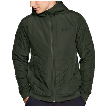 Under Armour TrainingsjackenColdGear Reactor Performance Hybrid Jacket grün
