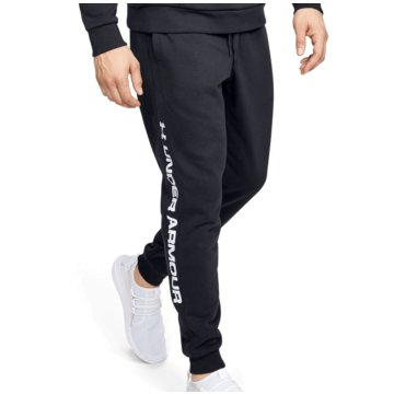 Under Armour TrainingshosenColdGear Rival Fleece Wordmark Logo Jogger schwarz