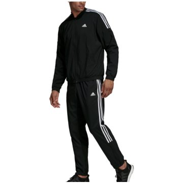 adidas TrainingsanzügeTrack Suit Woven Light schwarz
