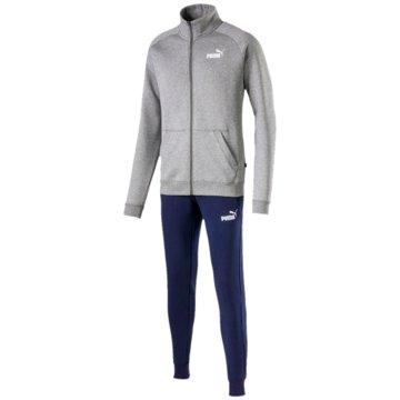 Puma JogginganzügeClean Sweat Suit CL grau