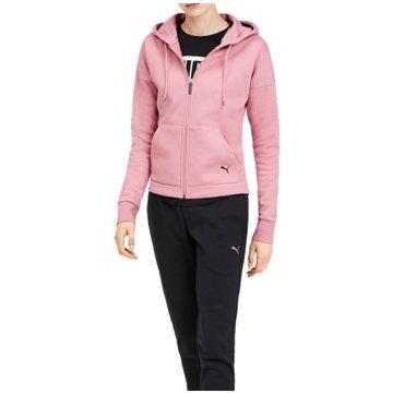 Puma JogginganzügeClassic Hooded Sweat Suit CL Women rosa