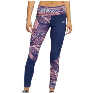adidas TightsOwn The Run City Clash 7/8 Tight Women blau