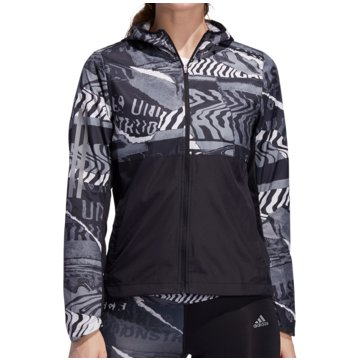 adidas LaufjackenOwn The Run City Clash Jacket Women schwarz