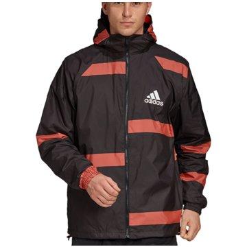 adidas TrainingsjackenW.N.D. Jacket schwarz