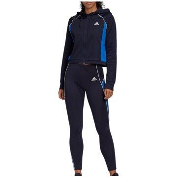 adidas TrainingsanzügeW TS HD&TGHT - FI6707 blau