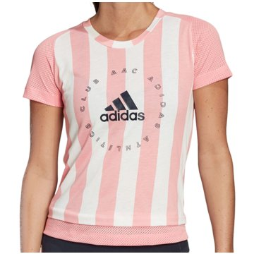 adidas T-ShirtsSlim Graphic Tee Women rosa